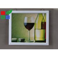 Buy cheap Easily Changing Poster Lighted Picture Frame Box , Supermarket LED Snap Frame Box Energy Saving from wholesalers