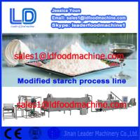 Buy cheap 304 Stainless Steel Automatic Modified Starch extrusion Machinery product