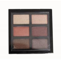 Buy cheap Warm Neutral Eyeshadow Palette All Shimmer , Red And Brown Eyeshadow Palette 90g product