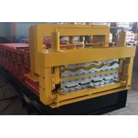 Buy cheap Steel Roof Deck / Floor Deck Roll Forming Machine Panasonic PLC Control Durable product