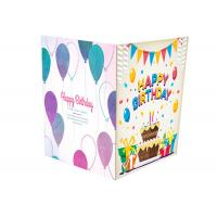 Buy cheap Colorful Printing Audio Musical Greeting Card Paper PCBA With Sound Chip Module from wholesalers