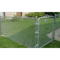 Buy cheap 10 Ft Commercial 2x9 Gauge Galvanized Chain Link Fence Package Kits Complete from wholesalers
