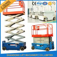 Buy cheap Self Propelled Elevating Work Platforms , CE Hydraulic Electric Aerial Lift Scaffolding from wholesalers