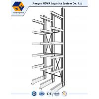 Buy cheap Carpet Rolls Steel Cantilever Racks Outdoor Flexible Assembly For Lumber from wholesalers