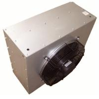 Buy cheap Hot water Steam air axial fan motor Hanging hydronic unit heaters with copper tube aliminium finned coils from wholesalers