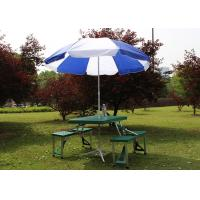 Buy cheap Screen Hand Printing Garden Table Umbrella , Strong Patio Table Parasol from wholesalers