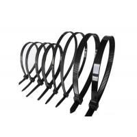 Buy cheap High Tensile Strength Self Locking Cable Ties / Nylon Zip Ties For Electrical Equipment from wholesalers