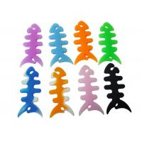 Buy cheap Fish Bone Silicone Cable Winder Earphone Holder Cable Tidy Earphone Cable Earphone Cord from wholesalers