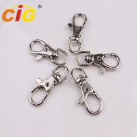 Buy cheap Snap Clasp Hook Nickle Plated Garments Accessories Lobster Claw Swivel Clasps product