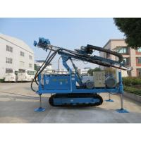 Buy cheap Rotary System Drilling Rig Construction , Hydraulic Crawler Drilling Machine MDL - 150H from wholesalers
