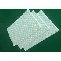 Buy cheap 500mm Width Sound Absorption White Cotton Non Woven Cloth Fiber Glass Cotton from wholesalers