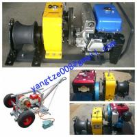 Buy cheap Cable Drum Winch,Cable pulling winch from wholesalers