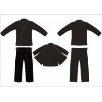 Buy cheap Customerized Brazilian Jiu Jitsu Kimonos Mma Competition Black Hemp Gi Bjj product