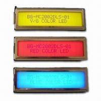 Buy cheap Standard LCM 20 x 2, Gray STN with LED Backlight from wholesalers