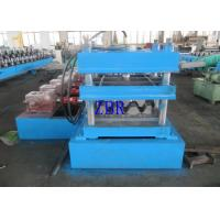 Buy cheap 18.5Kw Hydraulic Punching Guardrail Roll Forming Machine PLC Electric Control product