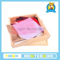 Buy cheap Montessori sensorial materials,wooden toys,educational toys for kids-Fabric Box from wholesalers