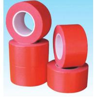 Buy cheap 260Um Thickness Crepe Paper Masking Tape 210N Per 25Mm Tensile Resistance from wholesalers