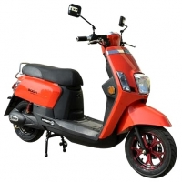 Buy cheap 12 Wheel Brushless 40mph 800w 48v Electric Moped Scooter from wholesalers