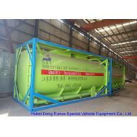 Buy cheap Fluoboric Acid Transport Tank Container 20FT , ISO Bulk Container For Shipping from wholesalers