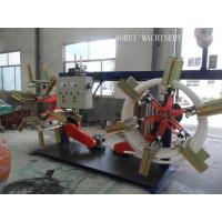 Buy cheap High Speed Plastic Pipe Extrusion Line , Carbon Spiral Reinforcing HDPE Pipe Extrusion Line product
