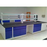 Buy cheap Stainless Steel Phenolic Resin Top Painted Steel Lab Cabinets And Countertops from wholesalers