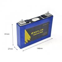 Buy cheap Safety Rechargeable Lifepo4 Flat Cells Easy Charging Ventilated Place Storage from wholesalers