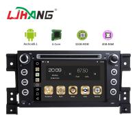 Buy cheap MP3 MP4 USB SD GPS SUZUKI Car DVD Player Double Din Head Unit Support TPMS from wholesalers