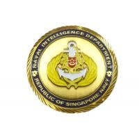 Buy cheap 3D Metal Custom Challenge Coins , Polishing / Plating Custom Made Coins from wholesalers