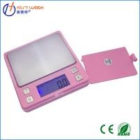 Buy cheap Pink 0.01 x 500g Digital Pocket Scale Balance Jewelry Scale Capacity:100g-1000g Pocket weigh balance Scale from wholesalers