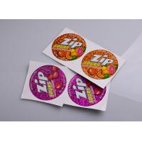 Buy cheap Personalized printing permanent adhesive hologram vinyl candy box packaging sticky labels from wholesalers