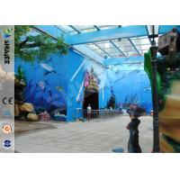 Buy cheap Amusement Hydraulic / Electric System 4d Cinema With Digital Video Projector System product