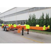 Buy cheap CIMC 20ft 40ft port terminal duck yard truck tractor trailer for sale from wholesalers