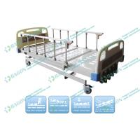 Buy cheap Five Functions Manual Patient Hospital Bed with rails , hill rom bariatric beds from wholesalers