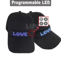 Buy cheap 2019 Fast delivery Custom LED Hat and LED Cap , baseball caps with built-in led lights from wholesalers