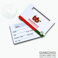 Buy cheap Low price loyalty plastic club management card removable singnatures from wholesalers