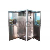 Buy cheap 90 Degree L Design Clean Room Modular , Stainless Steel Air Showers And Pass Thrus from wholesalers