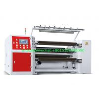 Buy cheap 350MPM Shaftless Unwinding Thermal Paper Slitting Machine PLC Mitsubishi Delta Inverter from wholesalers