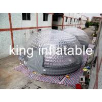 Buy cheap 1.0 Mm PVC Transparent Inflatable Air Tent  5m Diameter CE Approval from wholesalers