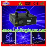 Buy cheap 500mW Blue 10kpss SD Card Animation Laser Light from wholesalers
