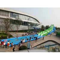 Buy cheap Giant comercial rental water slide super 50 meter long game for Adults for sales from wholesalers