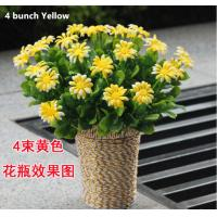 Buy cheap Rural chrysanthemum Artificial handmade Flowers cheaper dealer  price from wholesalers