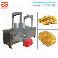 Buy cheap Banana Chips Continuous Fryer Machine|Factory Price Banana Chips Continuous Fryer|Banana Chips Continuous Fryer for Sale from wholesalers
