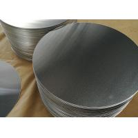 Buy cheap 1.8mm 1100 Aluminum Circle Blanks , Fry Pan Lightweight Round Aluminum Discs product