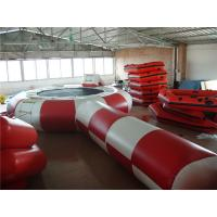 Buy cheap Eco Friendly Inflatable Water Trampoline , Inflatable Outdoor Games For Beach from wholesalers