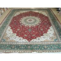 Buy cheap 100% Hand Knotted Silk Persian Carpets from wholesalers