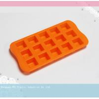 Buy cheap 15 cube jelly / chocolate Silicone Cake Moulds / Mold Heat Resistance product