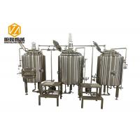 Buy cheap 300L Pub Brewery In Line Microbrewery Brewing Equipment For Craft Beer from wholesalers