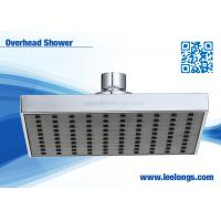Buy cheap High Efficiency Water Softener Square Shower Head , Overhead Rain Shower Head from wholesalers