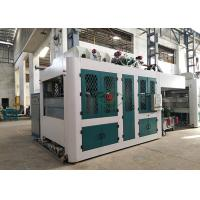 Buy cheap Food Packaging Paper Pulp Tableware Making Machine Trimming Free Dry In Mold from wholesalers