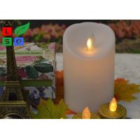 Buy cheap Remote Controlled Flameless LED Candle Lights , Pillar Flickering LED Commercial Shop Lights from wholesalers